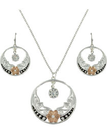 Montana Silversmiths Women's Evening Star's Wild Rose Jewelry Set, , hi-res