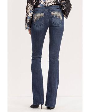 Miss Me Women's Indigo Danger Zone Mid-Rise Boot Cut Jeans - Plus, Indigo, hi-res