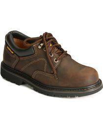 CAT Men's Steel Toe Ridgement Oxford Work Shoes, , hi-res