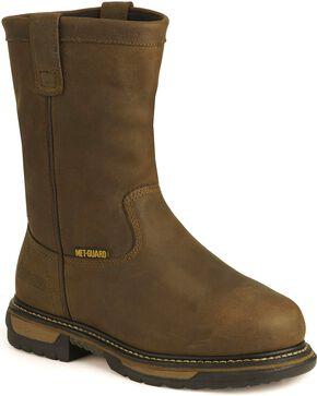 Rocky Men's Iron Clad Met Guard Boots, Tan, hi-res