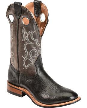 """Boulet Men's 12"""" Full Round Toe Rider Sole Boots, Black, hi-res"""