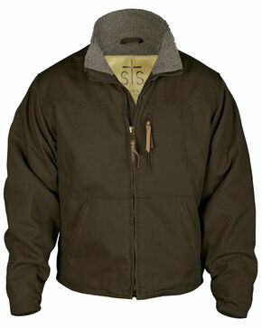 STS Ranchwear Men's Bridger Jacket - 2XL-3XL, Chocolate, hi-res