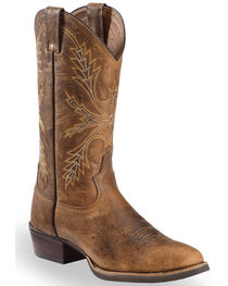 Justin Men's Silver Collection Buffalo Western Boots, , hi-res