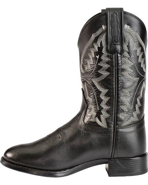 Jama Children's Ultra-Flex Roper Boots, Black, hi-res
