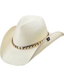 Peter Grimm Drakkar White Straw Cowboy Hat, , hi-res