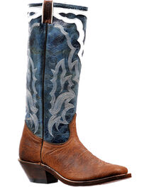 "Boulet Men's 16"" Western Boots - Square toe, , hi-res"