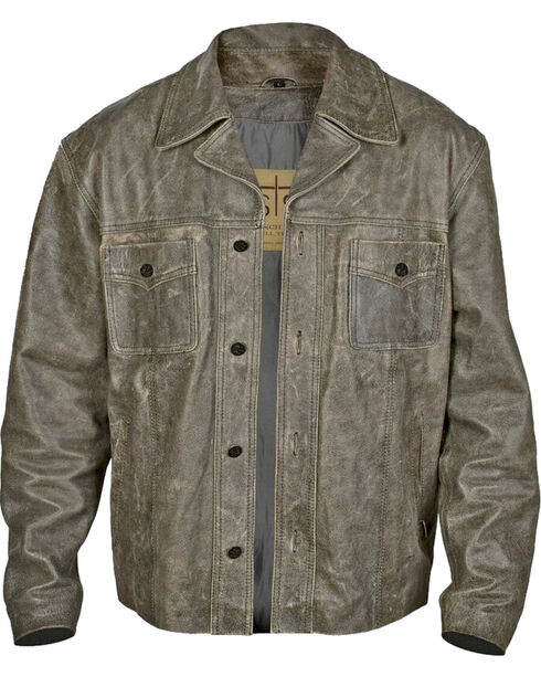 STS Ranchwear Men's Preacher Jacket - 2XL-3XL, Black, hi-res