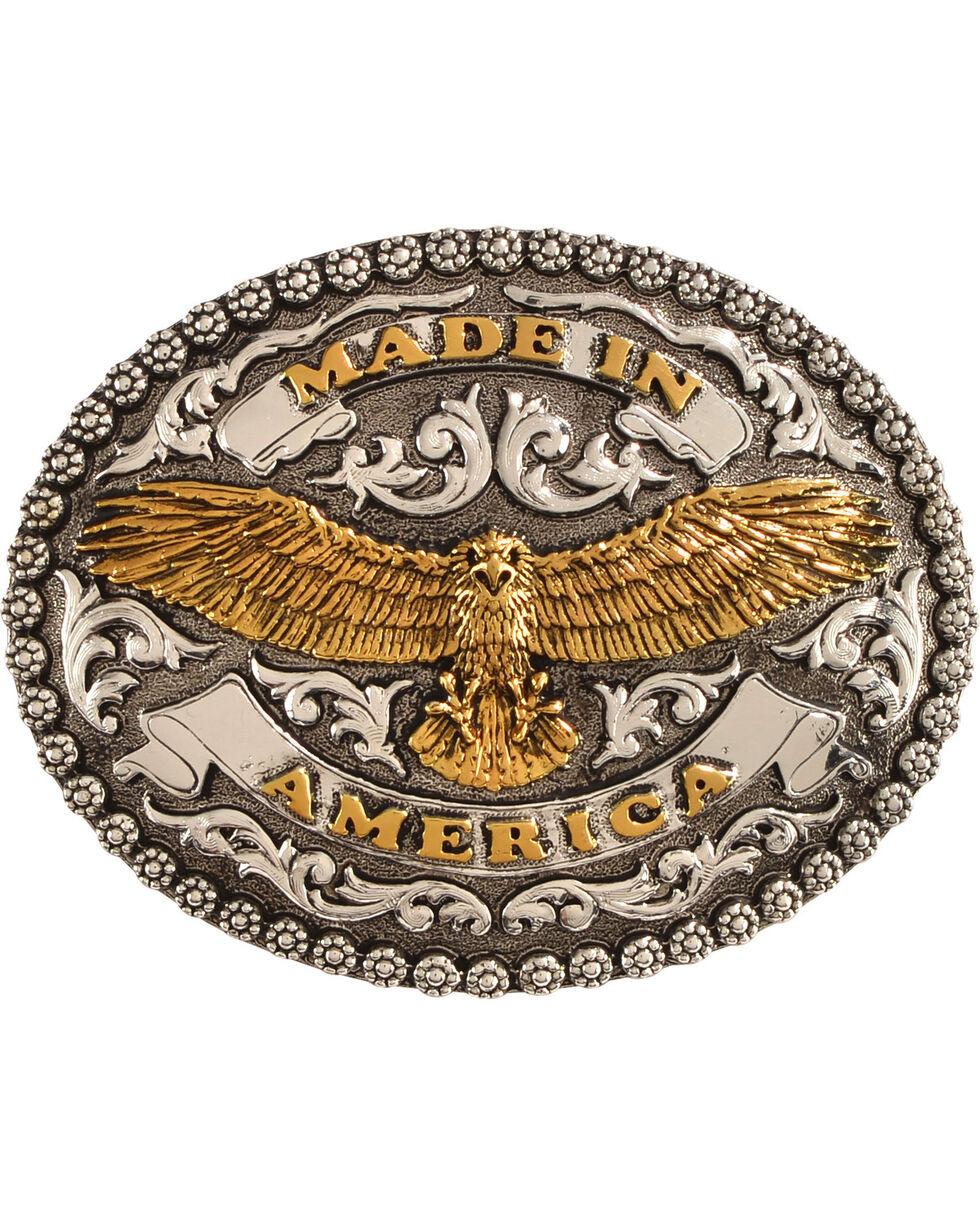 Cody James Men's Made In America Belt Buckle, Silver, hi-res