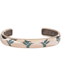 Silver Legends Women's Turquoise Hummingbird Bracelet , , hi-res