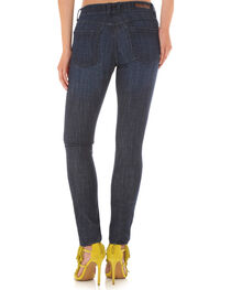 Wrangler Women's Destructed Dark Skinny Jeans, , hi-res