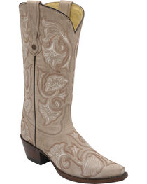 Corral Women's Floral Embroidered Western Boots, , hi-res