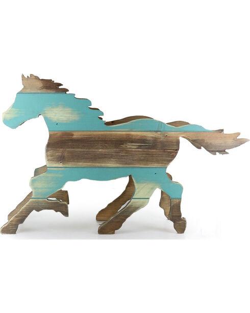 BB Ranch® Wooden Horse Planter Box, No Color, hi-res