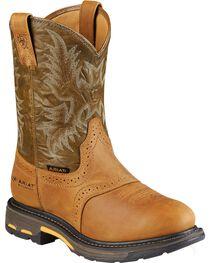 Ariat Men's Work-Hog Waterproof Composite Toe Work Boots, , hi-res