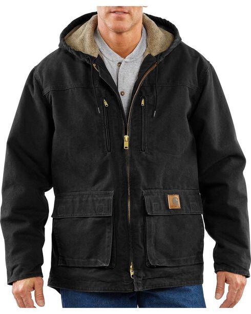 Carhartt Men's Jackson Coat - Big & Tall, Black, hi-res