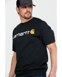 Carhartt Signature Logo Short Sleeve Shirt, , hi-res