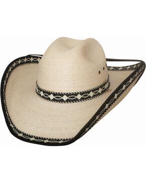 Bullhide Women's Custom Made Palm Leaf Hat , Natural, hi-res
