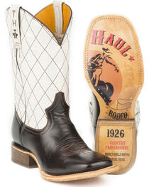 Tin Haul Men's Cowboy Way with Rodeo Sole Cowboy Boots - Square Toe, , hi-res
