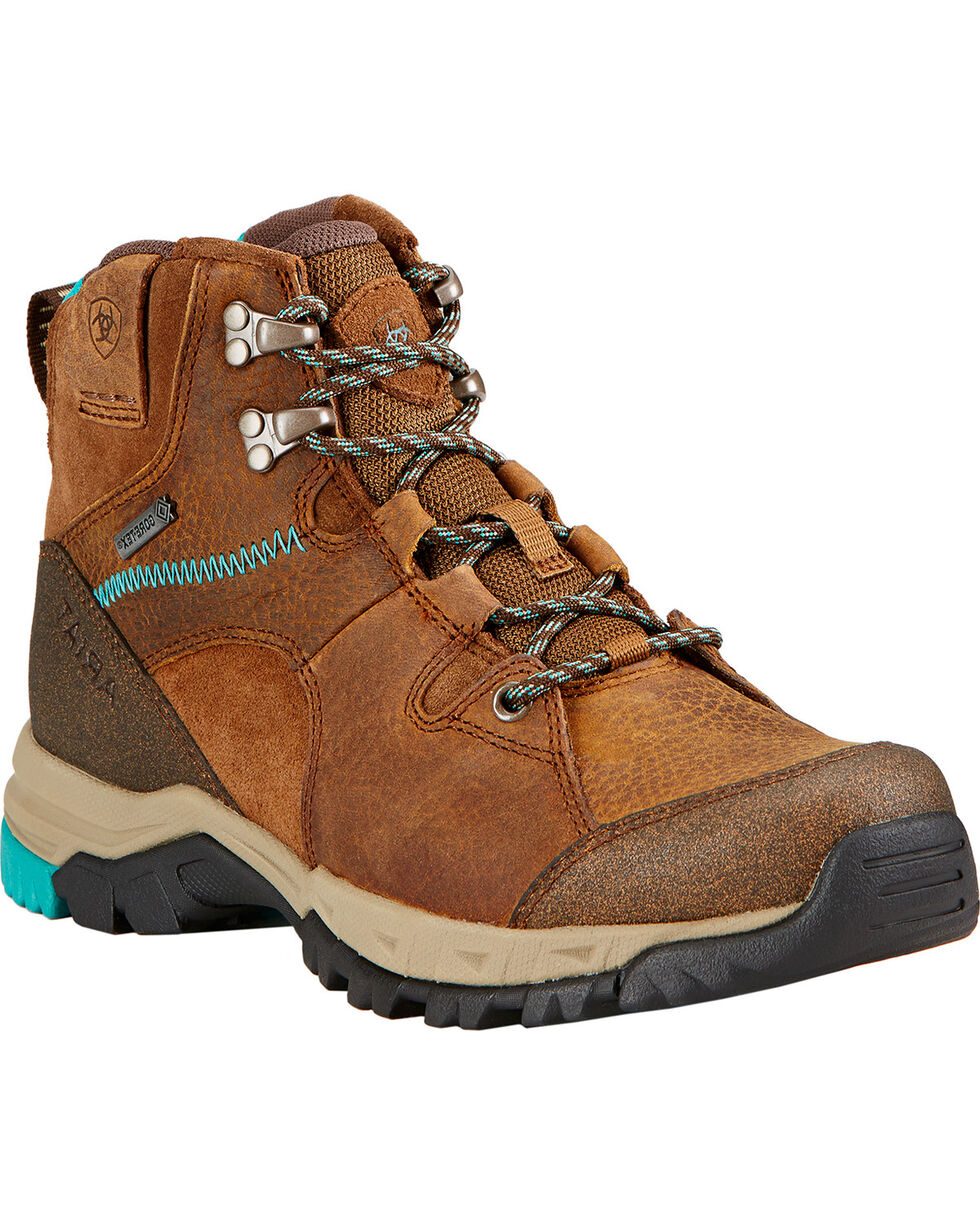 Ariat Skyline Mid GTX Hiking Boots, Taupe, hi-res