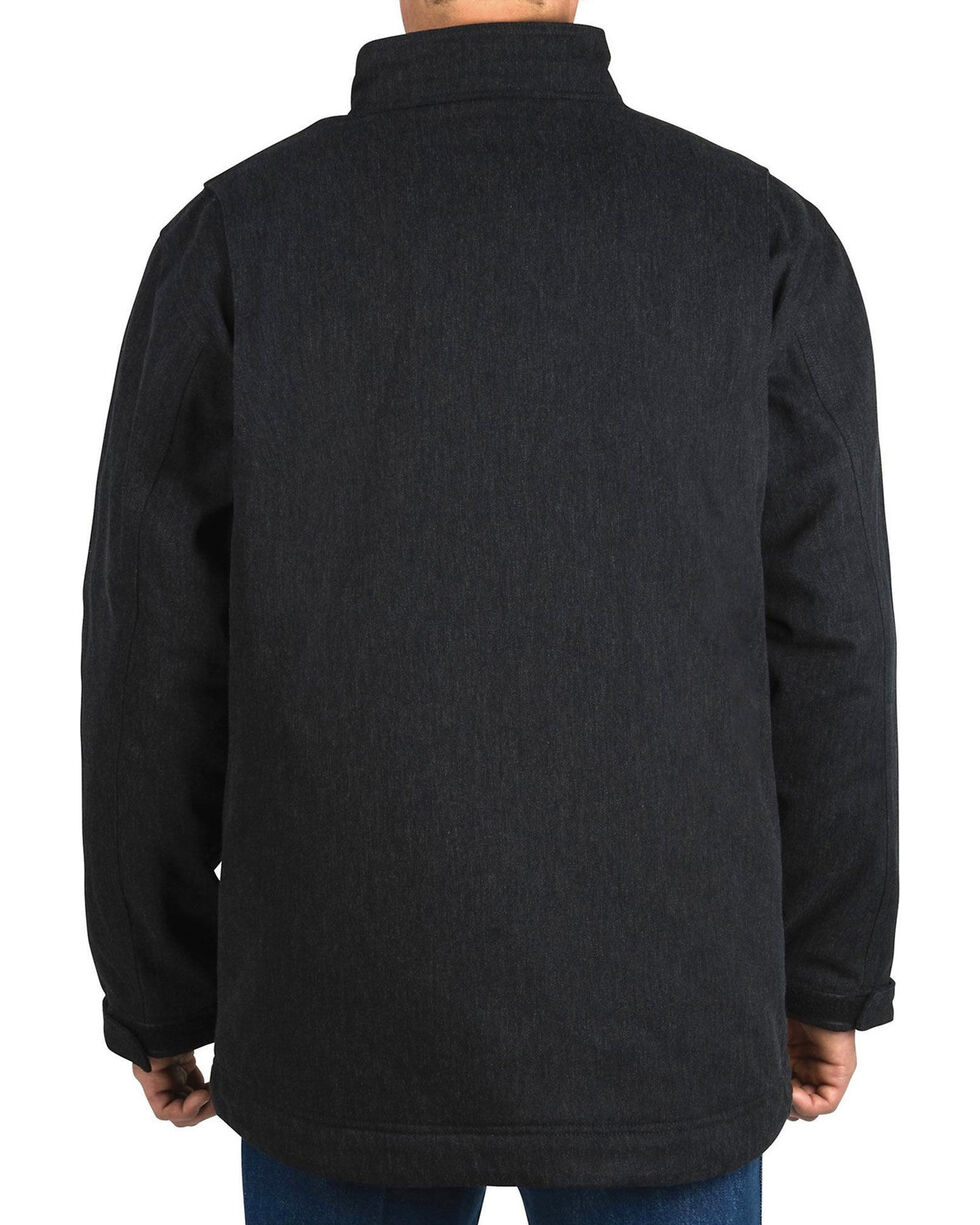 Walls Workwear Muscle Back Kevlar Coat , Black, hi-res