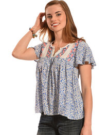 Flying Tomato Daisy Sweetheart Top , , hi-res