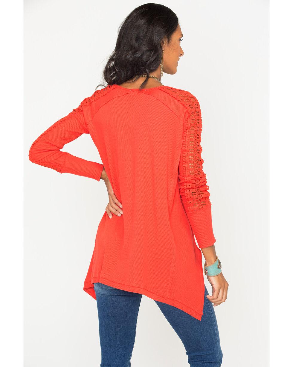 Angel Premium Women's Tandie Top, Red, hi-res