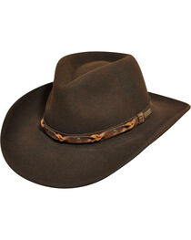 Wind River by Bailey Palisade Brown Western Hat, , hi-res
