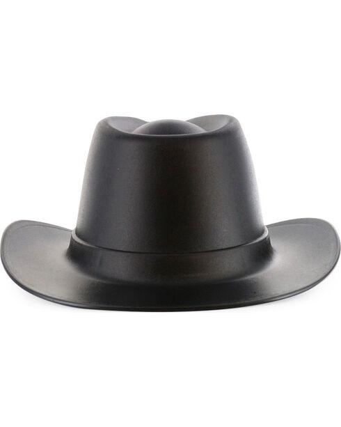 MSA Vulcan Cowboy Hard Hat, Black, hi-res