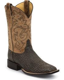 Justin Men's AQHA Remuda Shark Western Boots, , hi-res