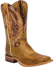 Tony Lama Men's Reverse Quill Print Western Boots, , hi-res