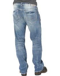 Silver Men's Gordie Loose Fit Straight Leg Jeans, Indigo, hi-res
