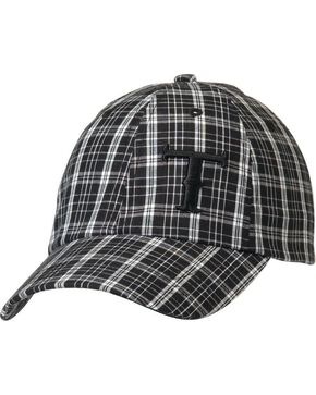 Twister Plaid Logo Cap, Black, hi-res