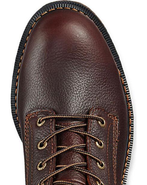 Red Wing Irish Setter Farmington Work Boots - Soft Round Toe, Brown, hi-res