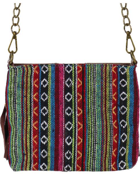 Catchfly Women's Fringe Crossbody Bag, Brown, hi-res