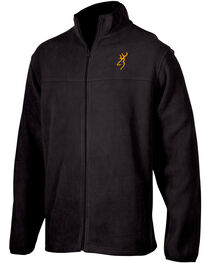 Browning Men's Black Laramie Fleece Jacket , , hi-res