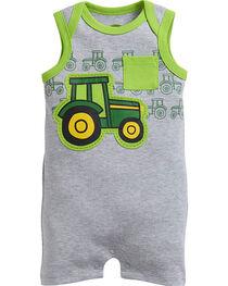 John Deere Infants' Tractor Romper, , hi-res