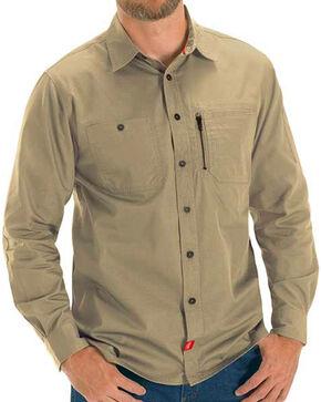 Red Kap Sand MIMIX™ Woven Work Shirt , Sand, hi-res