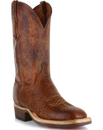 Lucchese Men's Bison Pearwood Horseman Boots, , hi-res