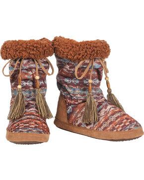 Blazin Roxx Women's Western Rory Short Slippers , Multi, hi-res