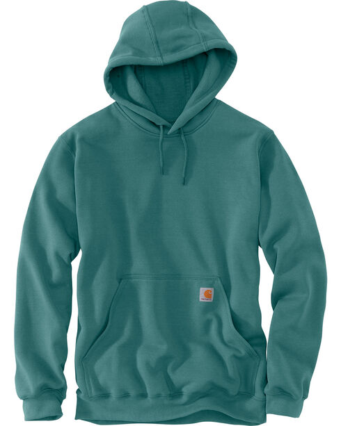 Carhartt Midweight Hooded Pullover Sweatshirt, Teal, hi-res