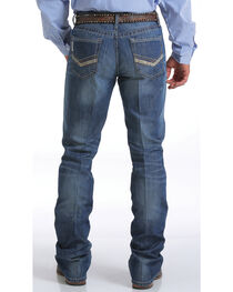 Cinch Men's Ian Medium Stonewash Jeans - Boot Cut, , hi-res