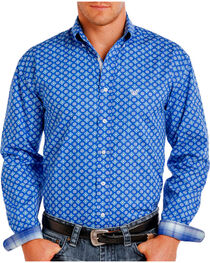 Rough Stock by Panhandle Men's Patterned Long Sleeve Shirt, , hi-res
