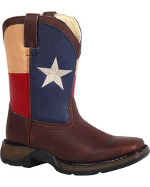 Durango Kid's Lone Star State Western Boots, , hi-res