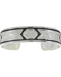 Montana Silversmiths CrossCut Starlight & Ribbons Bracelet, , hi-res