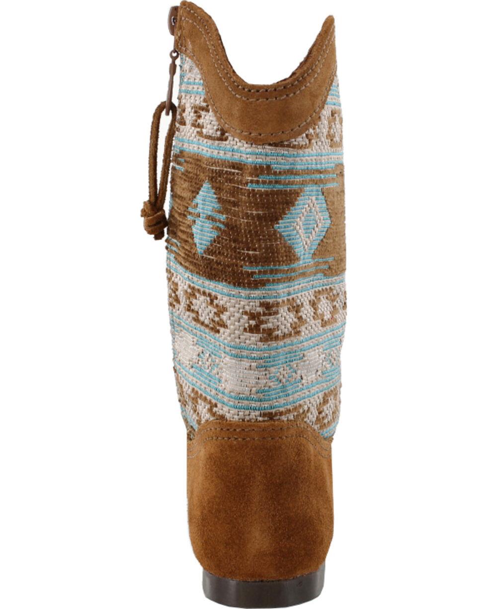 Minnetonka Women's Baja Boots, Dusty Brn, hi-res