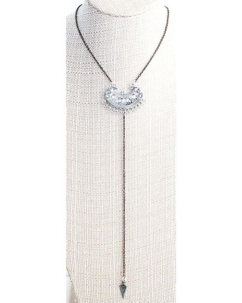 Everlasting Joy Jewelry Women's Wrangler Necklace , Silver, hi-res