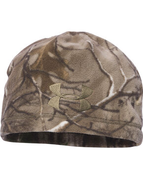 Under Armour Camo Outdoor Fleece Beanie, Camouflage, hi-res