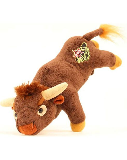 PBR Bucking Bull Stuffed Toy Animal, Brown, hi-res