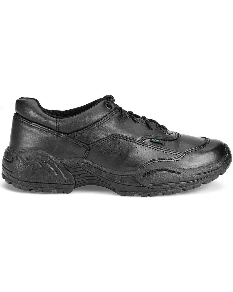 Rocky Men's 911 Athletic Oxford Duty Shoes, Black, hi-res