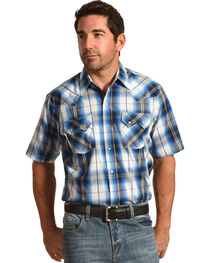 Ely Cattleman Men's Ombre Sawtooth Shirt , , hi-res