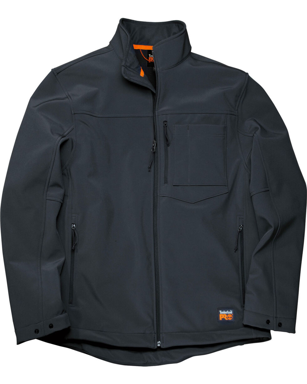 Timberland Men's Power Zip Windproof Softshell Jacket , Black, hi-res